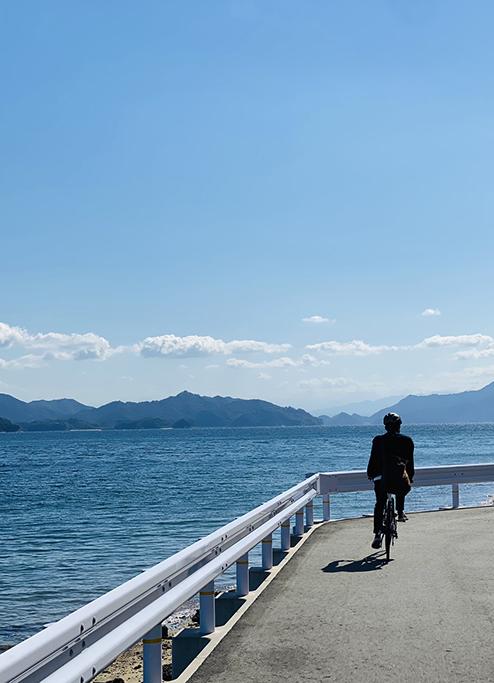 大芝島サイクリング