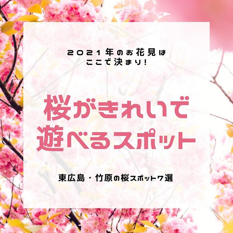 桜がきれいで遊べる スポット
